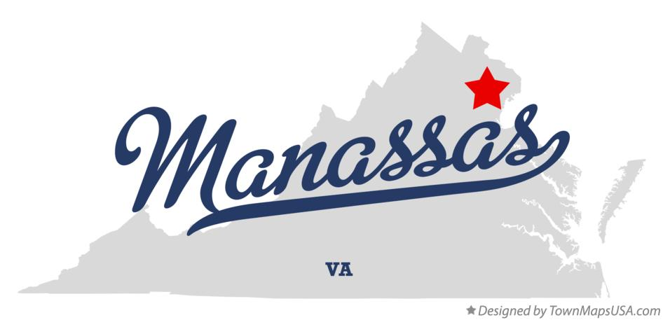map_of_manassas_va